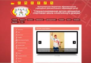 Сайт на Word Press для детской спортивной школы г. Ногинска